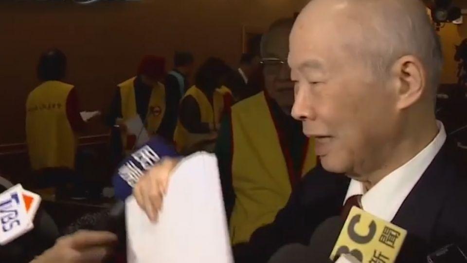 誤稱李登輝仍領終身俸 楊仁壽書面道歉