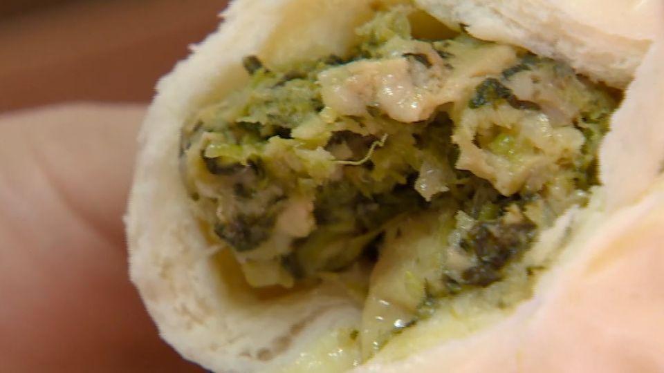 控南門市場名店「徐家點心」雪菜肉包沒有肉