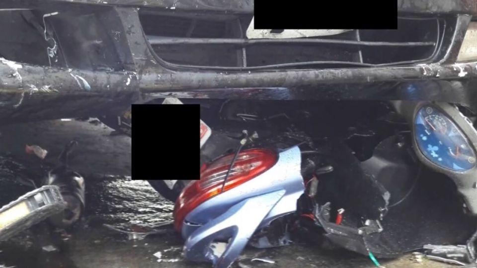 自小客衝撞機車再撞民宅 駕駛竟然只有14歲