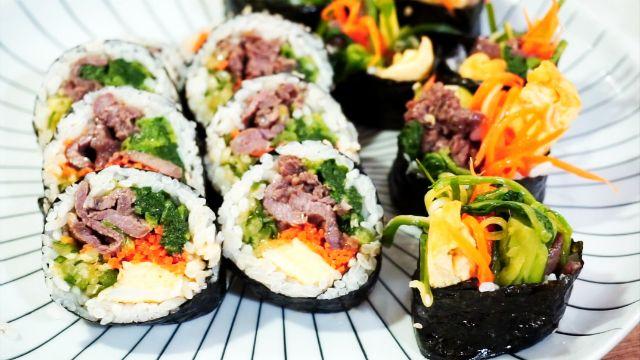 懶人便當菜 在家簡單享受韓國牛肉紫菜飯捲