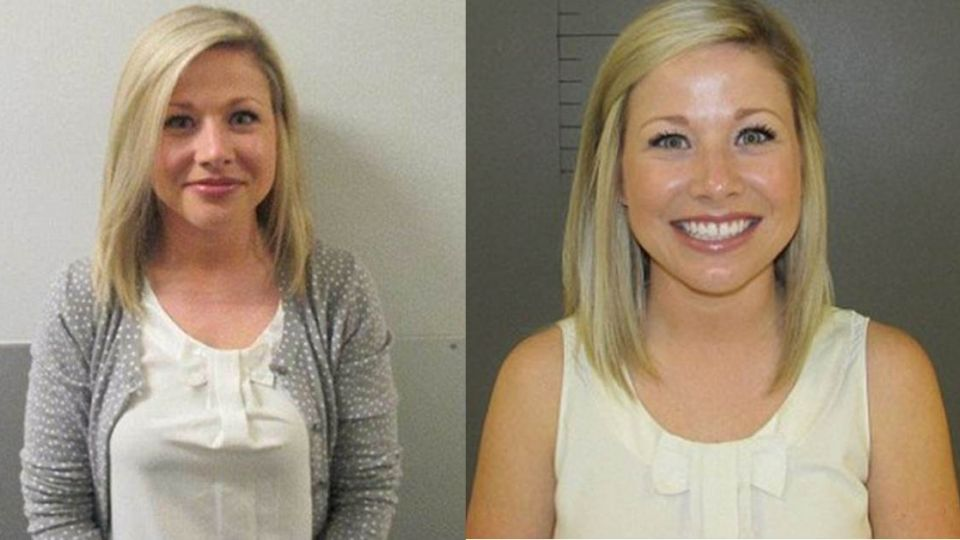 和17歲學生性關係 已婚高中女老師拍「嫌犯照」幸福燦笑