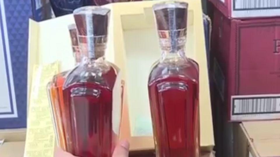 空瓶假酒偽造標籤 仿冒「約翰走路」、「麥卡倫」削暴利