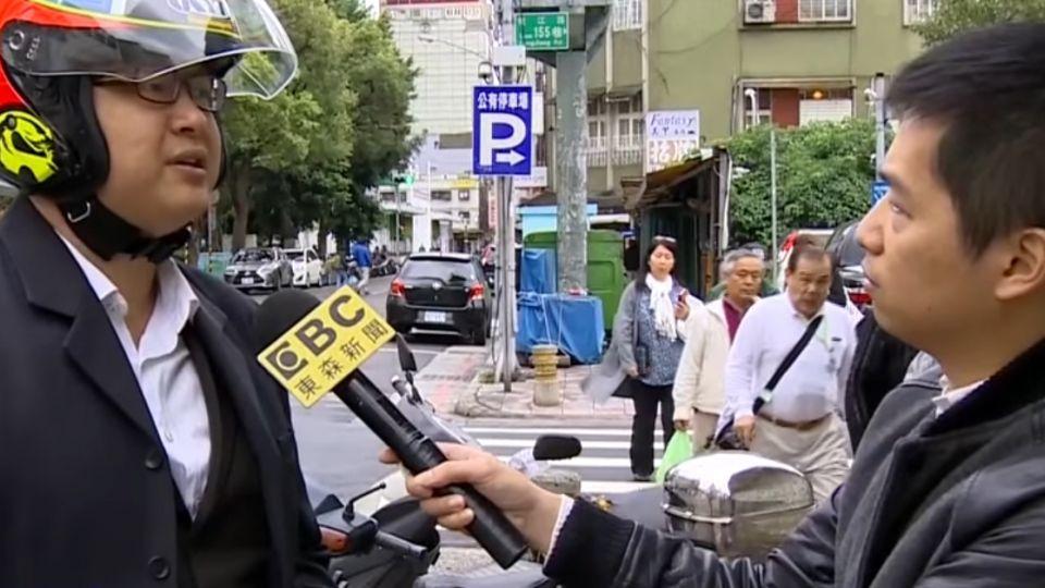 停車格白線臨時被塗黑 民眾:北市府搶錢