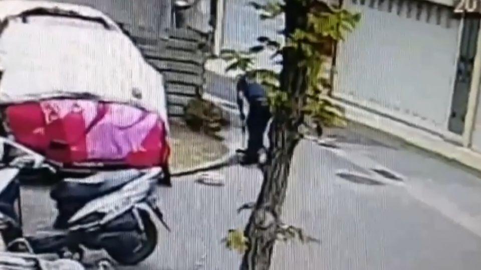 警知法犯法!車不停車庫 停共有地私自塗銷紅線