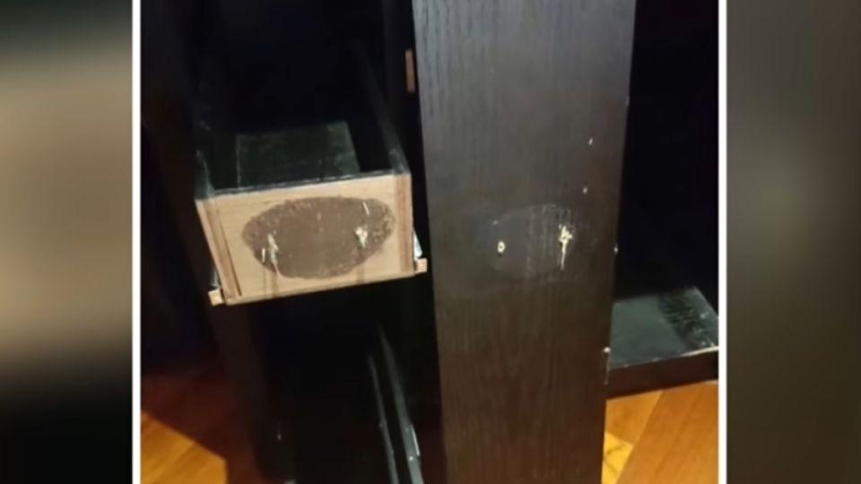 飯店超狂破壞王! 心情差「拆掉吧台整片門」