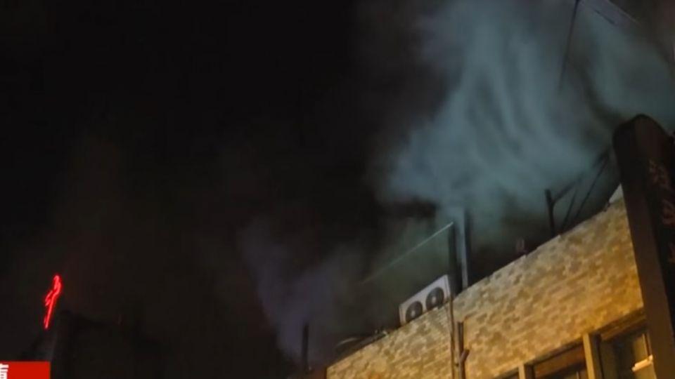 韓式烤肉名店打烊後廚房竄火 撲滅後竟「漏瓦斯」!
