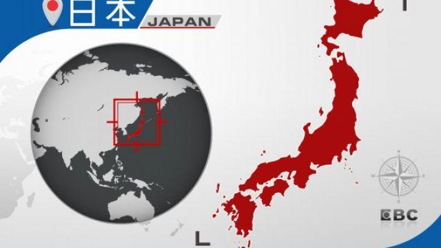 怪獸突現身海峽 日本北九州廣告吸睛