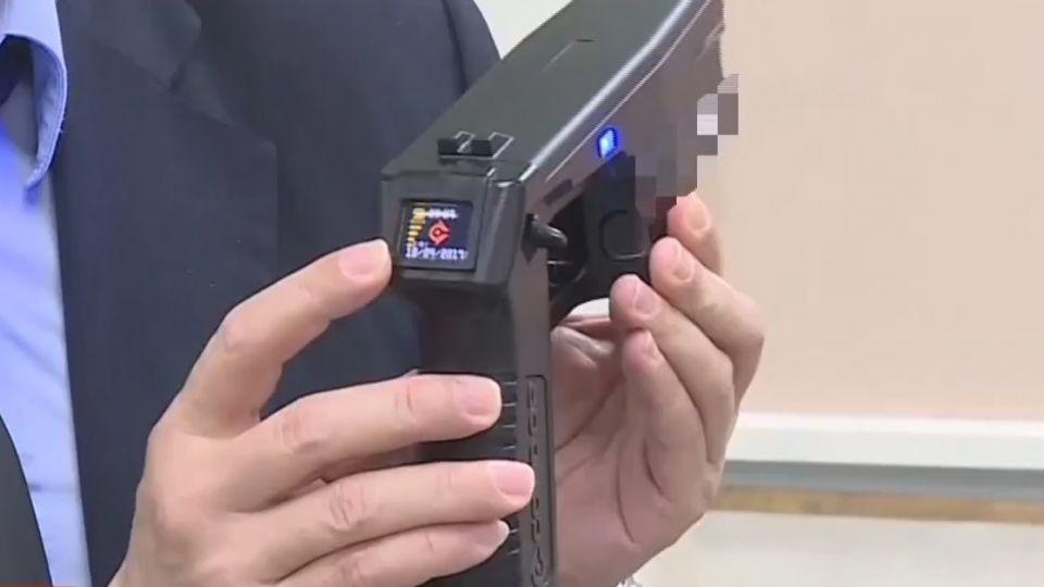 北捷警配拼裝電擊槍 議員憂「安全出問題」