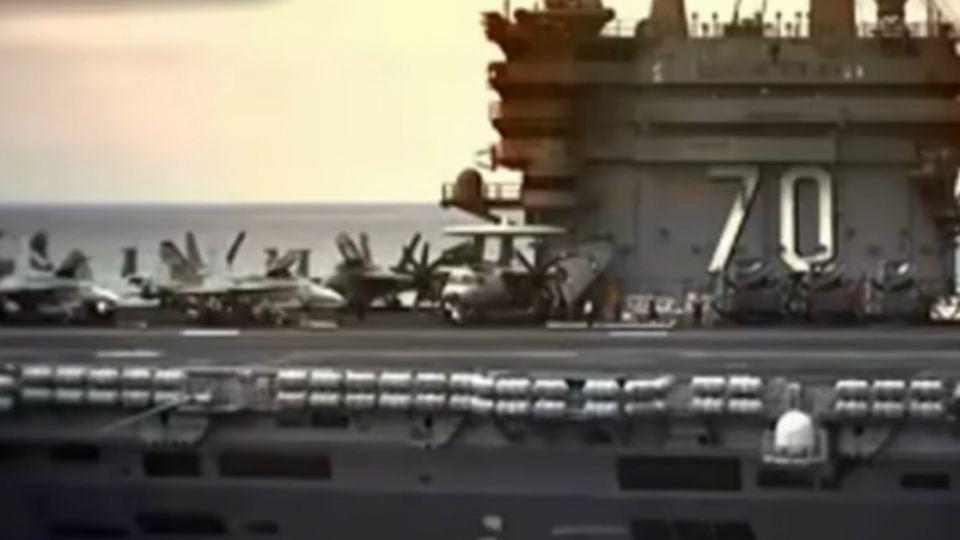 卡爾文森號在哪? 美國防官員:離朝鮮半島還很遠