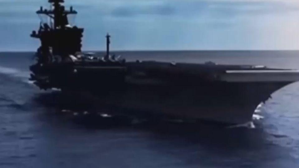 卡爾文森號在哪? 美官員:即將開往朝鮮半島