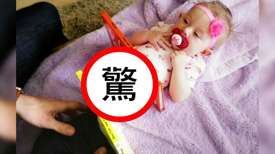 600萬人驚呆!他拿書本把女兒「切兩半」 網友:媽媽會昏倒