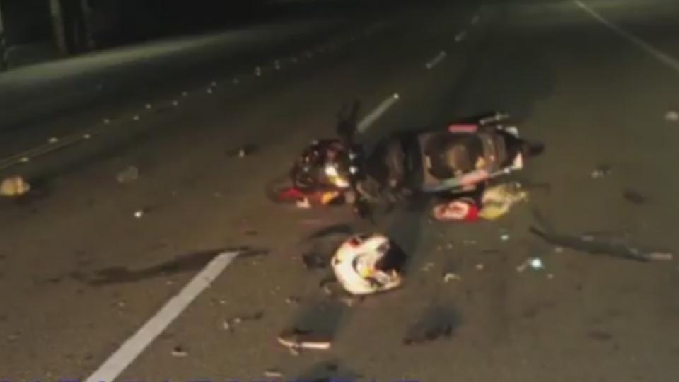少年騎「泡妞神車」載2妹 撞違規轎車斷送性命