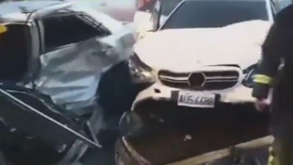 賓士酒駕猛力撞 遭撞駕駛無生跡、2輕傷