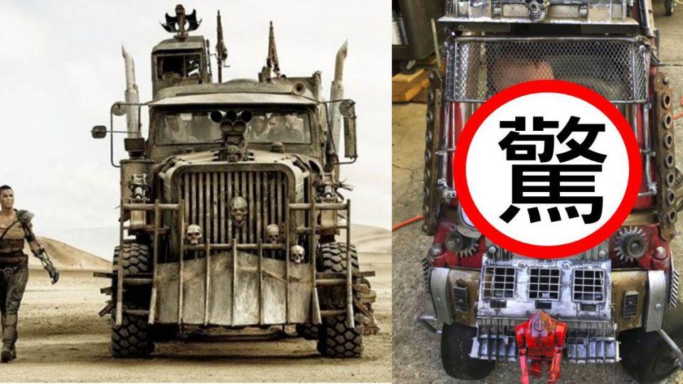 【電腦王阿達】超狂老爸!親手改造迷你「瘋狂麥斯」玩具車