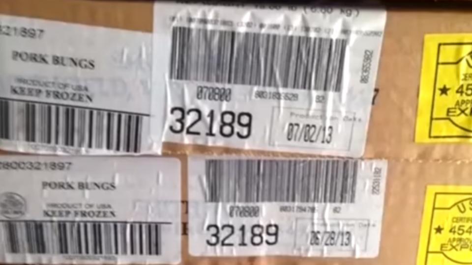 雞豬肉冷凍4年照賣 查封1.5萬kg問題肉品