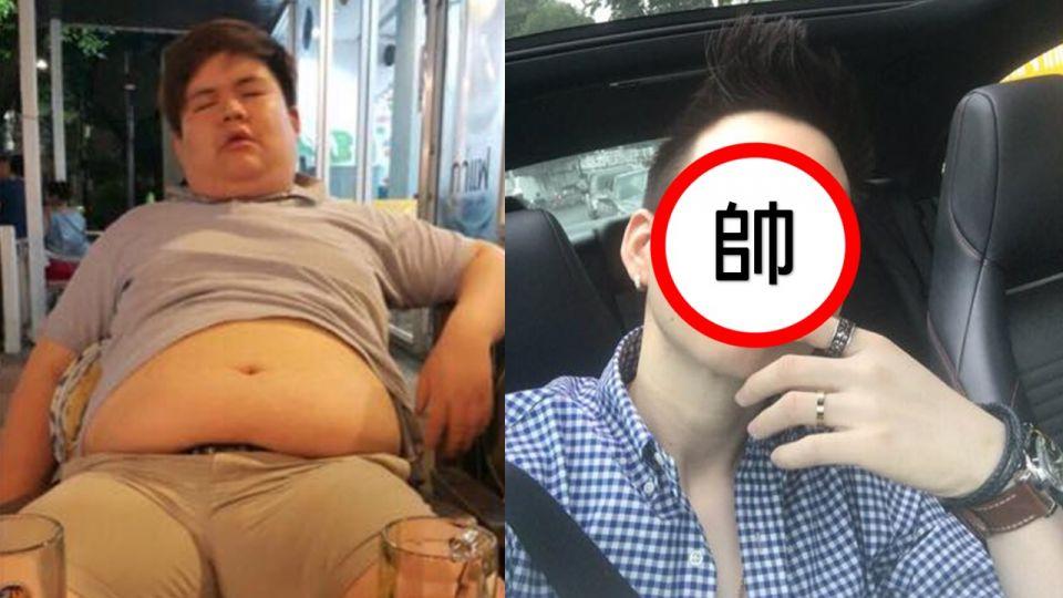 百斤肥宅為愛年甩75公斤 大長腿、瓜子臉帥到「嫑嫑的!」
