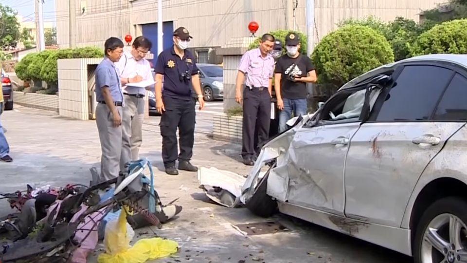21歲女車主幫友慶生撞死人 壽星也重傷