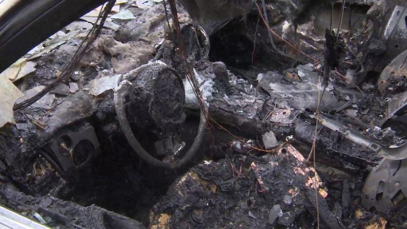剩骨架…千萬保時捷遭縱火燒毀 凶手竟和車主「有關係」