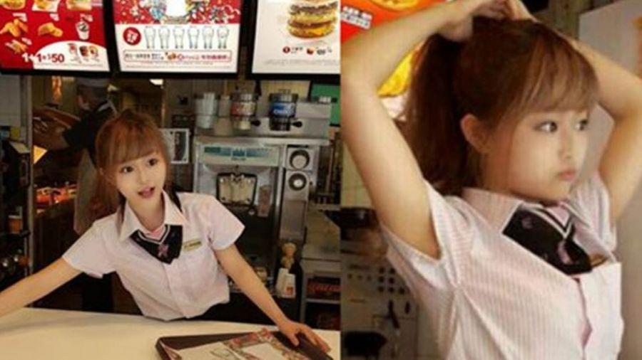 【更新】「麥當勞正妹」與媽媽合照曝光!逆天神基因網友都瘋了