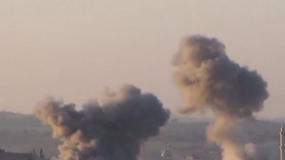 敘利亞化武新影像公開 孩童口吐白沫喘不過氣