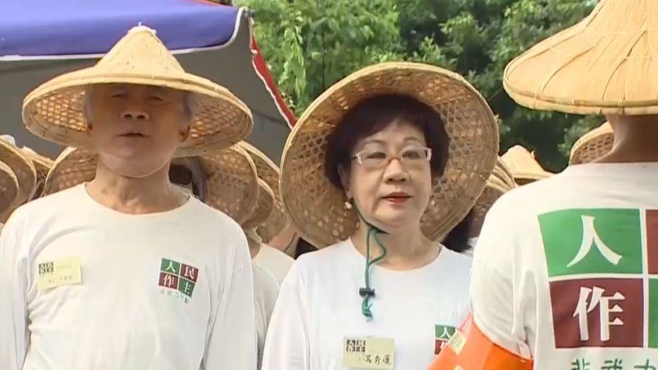 「補正公投法」不三讀 林義雄禁食抗議