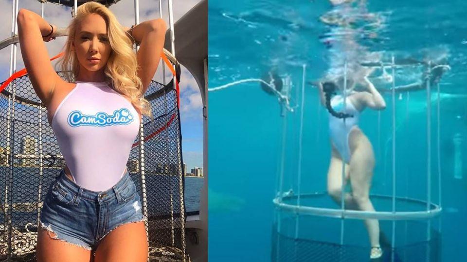 AV女優遭鯊魚攻擊血染大海…潛水業爆「假意外」