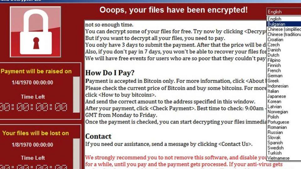 全球肆虐99國!勒索病毒「鎖死電腦」台灣成第2嚴重災區