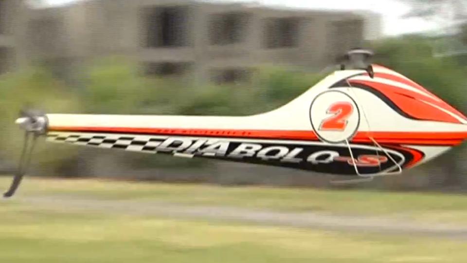 號稱「空中高鐵」 遙控直升機時速326km