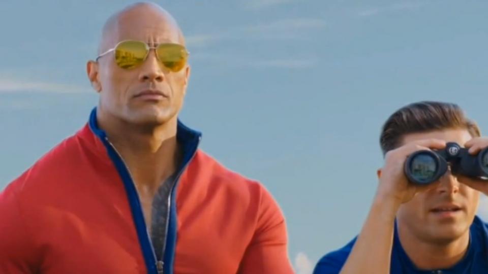 「海灘救護隊」養眼鏡頭多 男女主角假戲真做