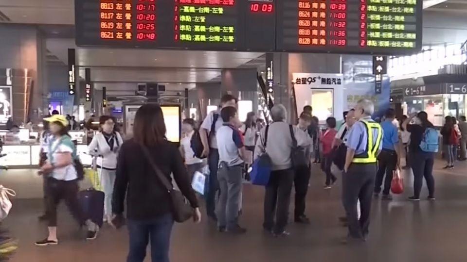 氣球纏繞架空線 高鐵1.2萬旅客受延誤