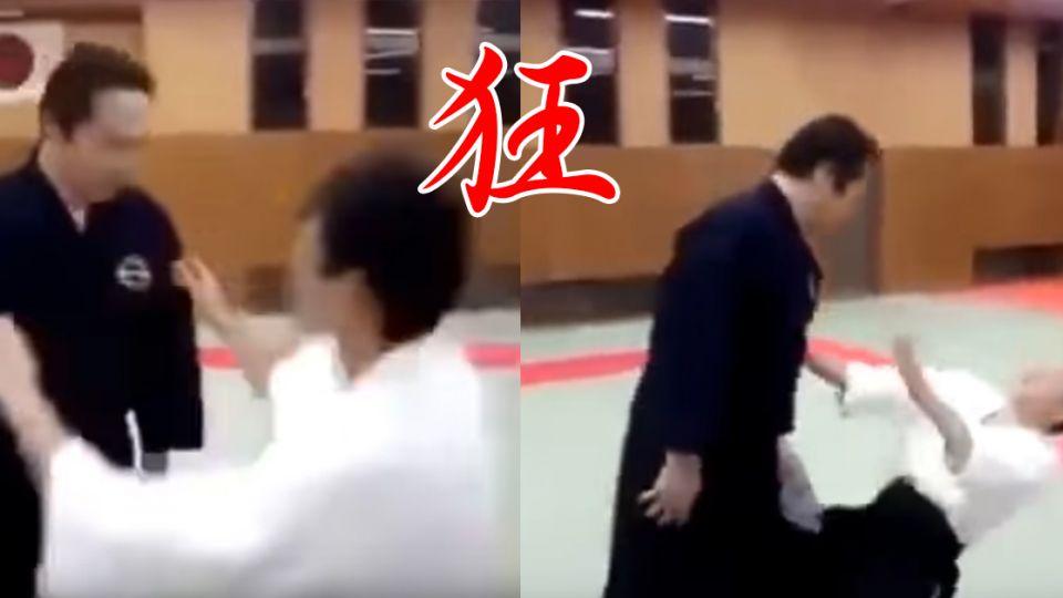 【影片】比太極推手狂!日本高手「死亡凝視」 看一眼就腿軟