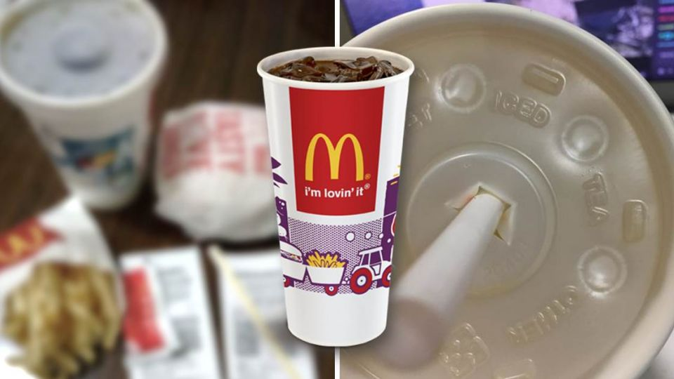 麥當勞杯蓋圓點超抒壓 外圈「方形」竟還有隱藏版功能!