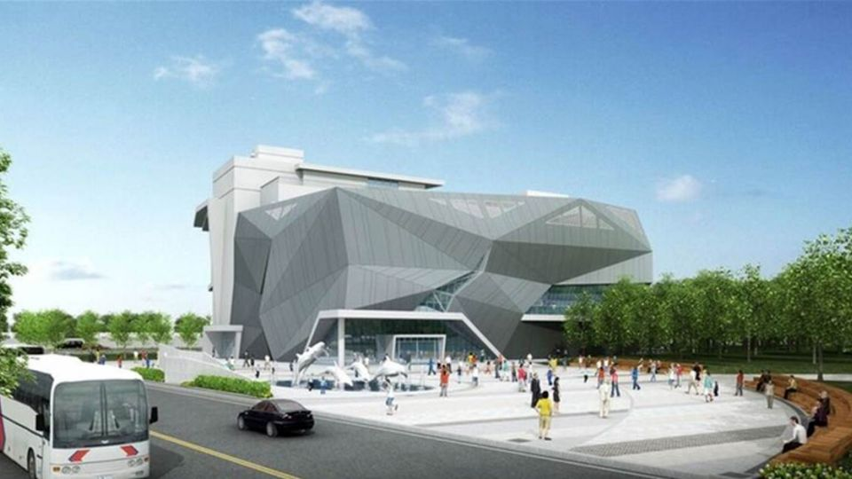 台中海洋生態館明年三月完工 港區新景點
