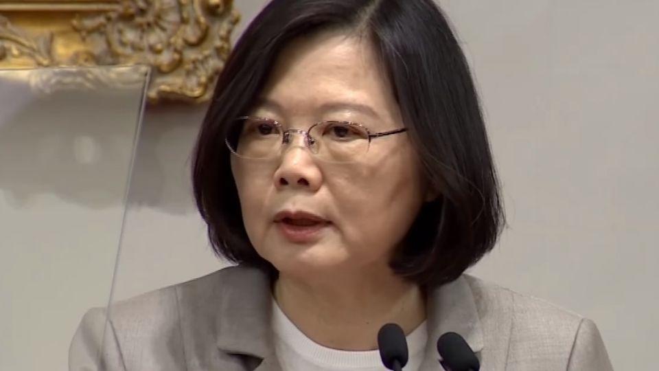 520周年民調低 總統:非為民調做事 是為台灣做事