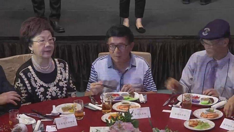 無視中監「5不規定」 陳水扁竟入席餐會坐主桌