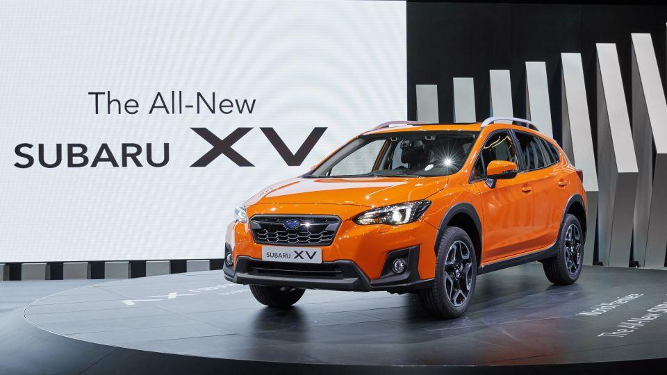 跨界休旅掀戰!Subaru大改款XV 海外首發6/8登台