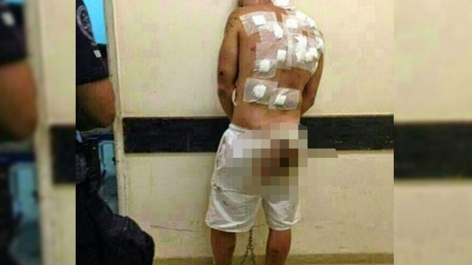 他性侵1歲半繼子致死 遭20獄友「以牙還牙」白褲血跡斑斑