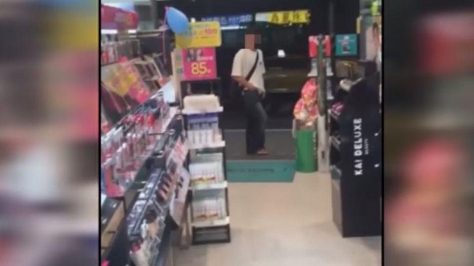 女大生控藥妝店遇襲臀狼 錄影蒐證反遭咆哮