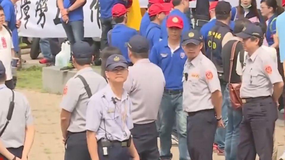 六輕生煤展延公聽會 4百員工與環團對峙
