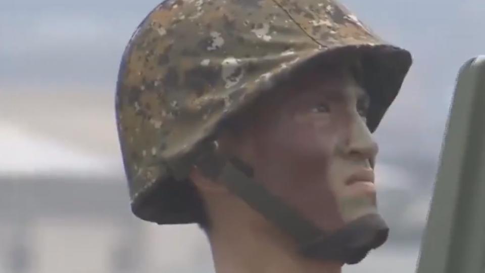 漢光33號演習第三天 淡水河反突擊演練
