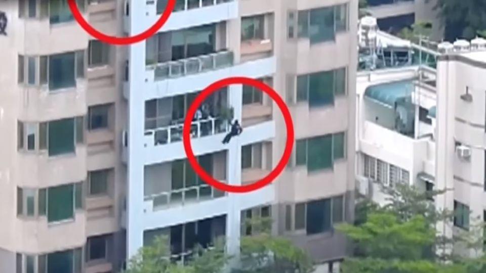 詐騙機房藏豪宅大樓 警攀降破門逮13人
