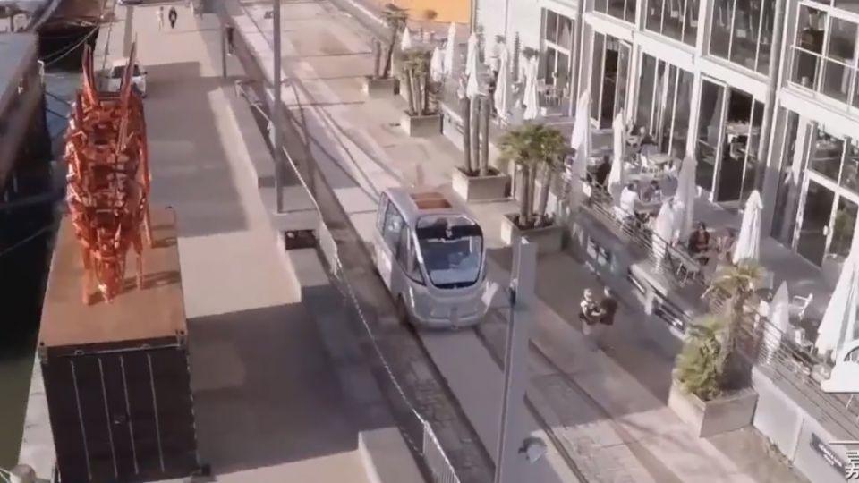 台北「無人小巴」 最快8月試跑公車專用道