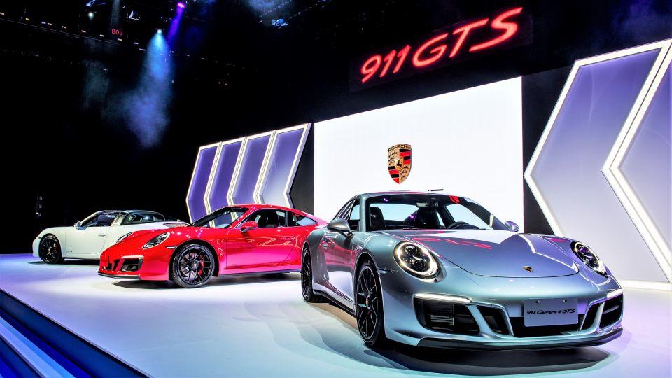 選雙門還是敞篷?911 GTS五款新車來勢洶洶
