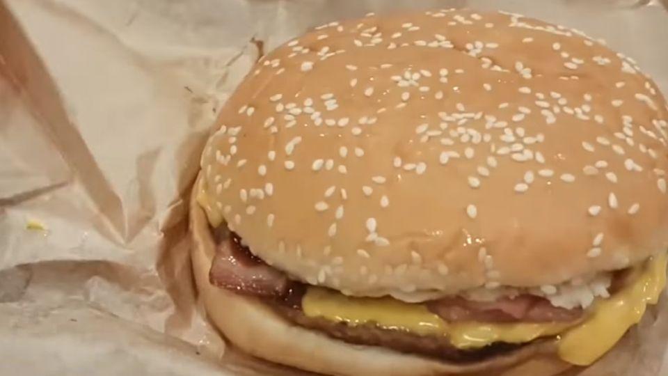 圖僅供參考? 網友控落差大 漢堡王、摩斯:可更換