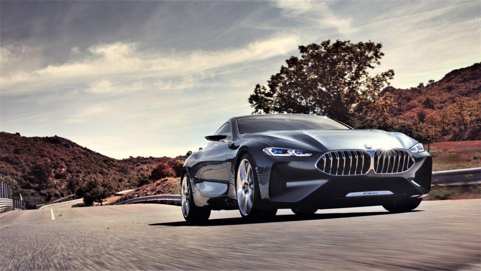【影片】全員到齊! BMW 8 Series概念車初現身