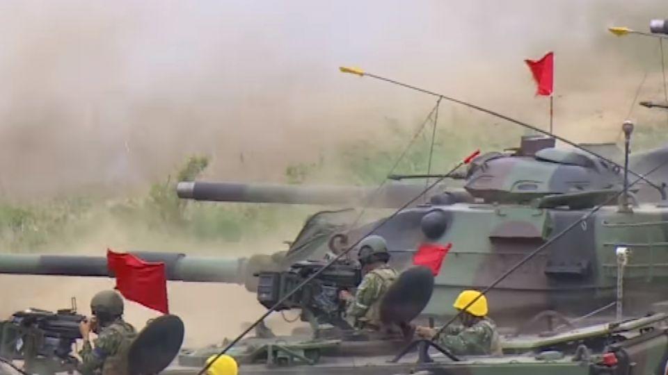 抗衡共軍! 我戰車拚升級、購二手M1A1補戰力