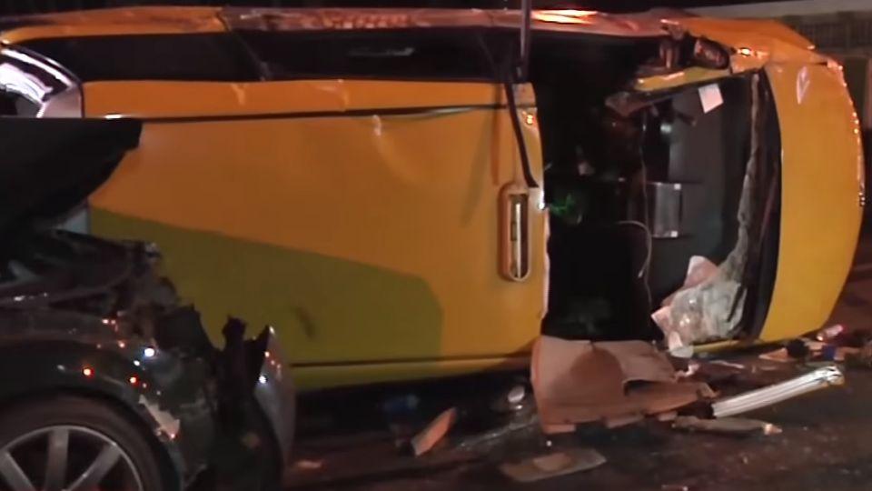 「我承認酒駕」 開跑車追撞害翻車 釀5人傷