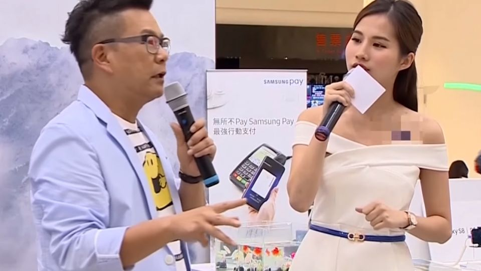荒謬大師沈玉琳 分享新手機不改搞笑本性