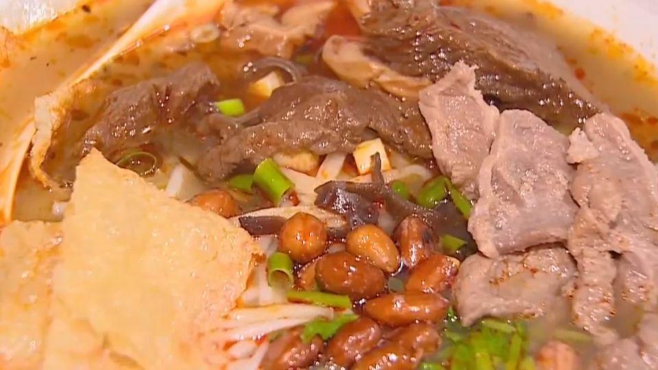 廣西柳州風味小吃「螺獅粉」 台灣吃得到