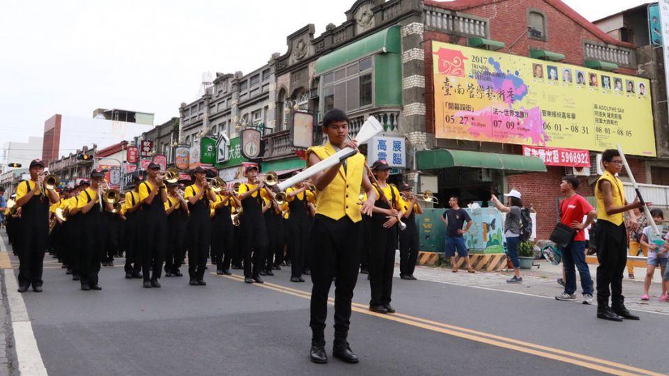 喜金A!台南管樂藝術季開跑 25場表演免費觀賞